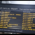 Avoir un train de retard